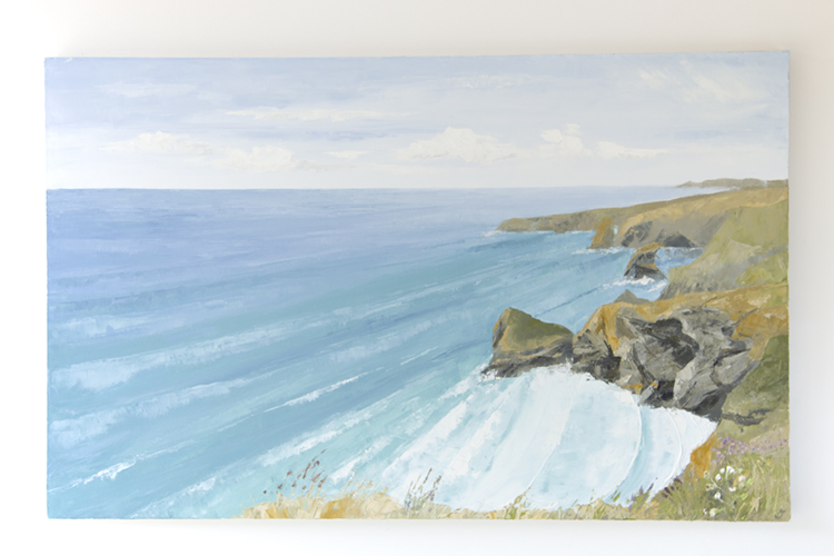Bedruthan Steps - Summer